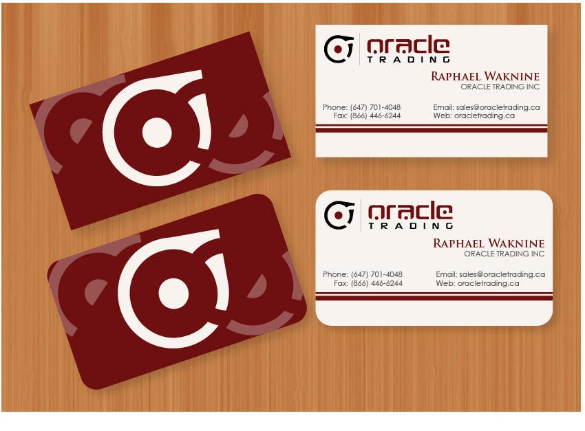 Entry #21 by jobee for Business Card + Letterhead Design for ORACLE ...