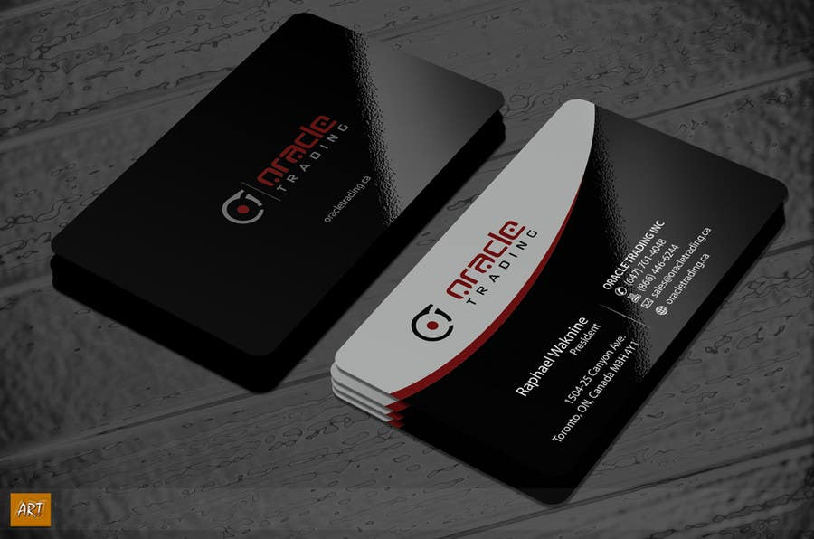 Entry 142 by artleo for business card letterhead design for contest entry 142 for business card letterhead design for oracle trading inc colourmoves