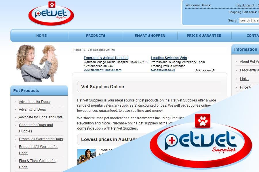 Contest Entry #121 for Logo Design for Pet Vet Supplies