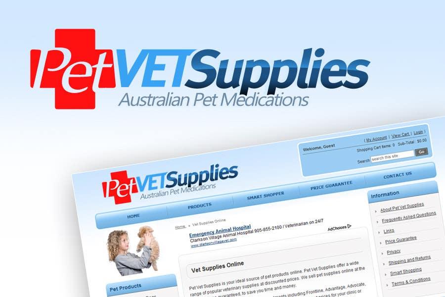 Конкурсная заявка №69 для Logo Design for Pet Vet Supplies