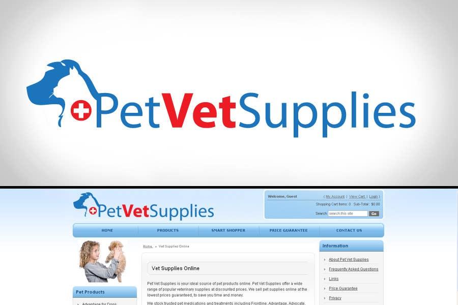 Inscrição nº 67 do Concurso para Logo Design for Pet Vet Supplies