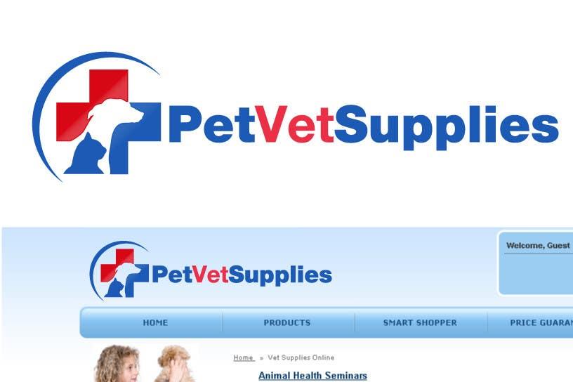 Contest Entry #192 for Logo Design for Pet Vet Supplies