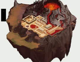 nº 2 pour Create a Floating Island based on a unique Fire World! par raphamorton