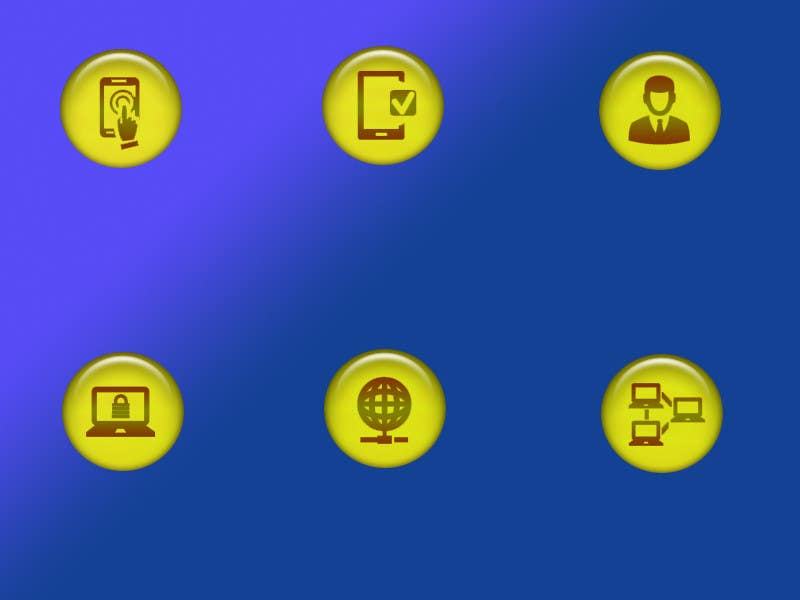 Penyertaan Peraduan #                                        29                                      untuk                                         Design some Icons for Technology products
