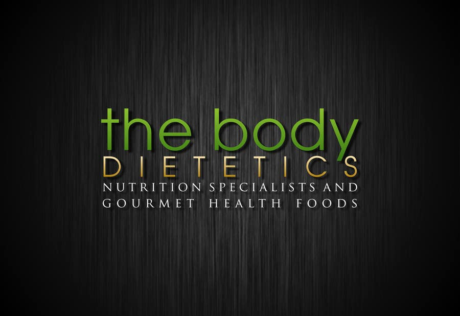 #100 for Logo Design for The Body Dietetics; health food and nutrition advice. by doarnora