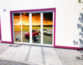 #11 for Design an Autoparts store front entrance windows graphics by uniquedesigner25