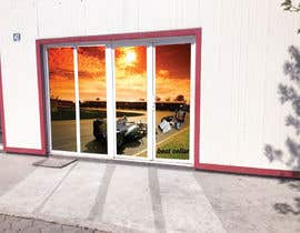 #12 for Design an Autoparts store front entrance windows graphics by uniquedesigner25