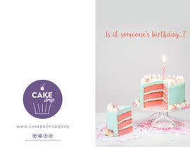 #28 for Direct Mail design (Birthday card style) by nikiramlogan