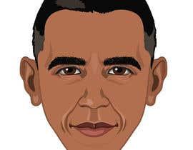 Bibicon tarafından Vector Barack Obama Head! için no 95