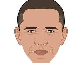 KozolArts tarafından Vector Barack Obama Head! için no 125