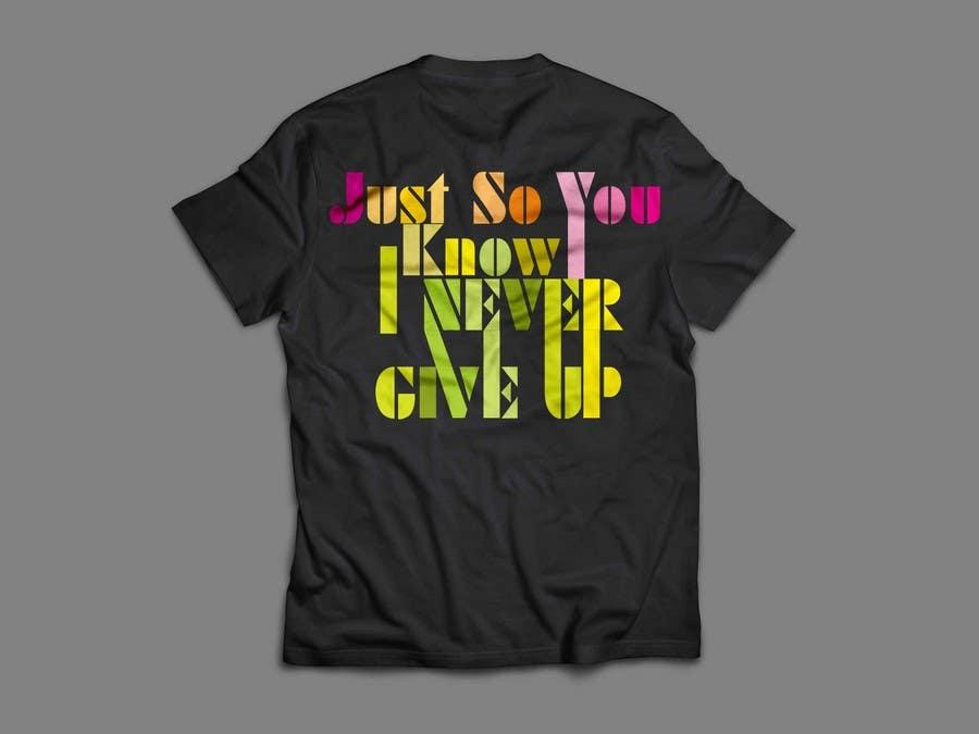 Kilpailutyö #                                        34                                      kilpailussa                                         Design a T-Shirt