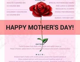 nº 16 pour Design a Mother's Day Flyer par Steffevang