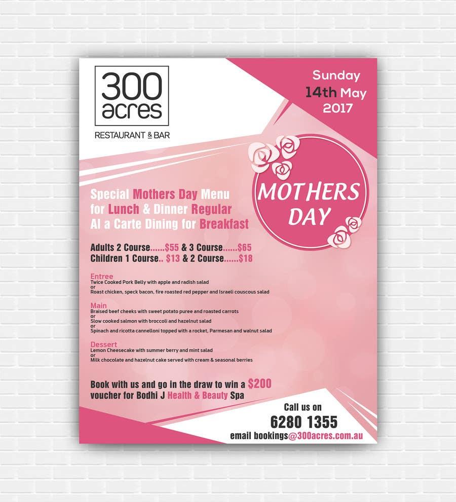 Proposition n°29 du concours Design a Mother's Day Flyer