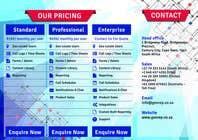 Brochure Design Kilpailutyö #7 kilpailuun Software Brochure
