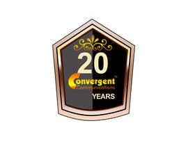 #17 for Design a 20Year service logo by mostafizur8285
