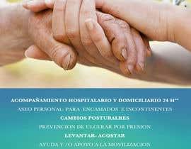 nº 1 pour Flyer publicitario - Cuidar personas par Vincenzosalvo