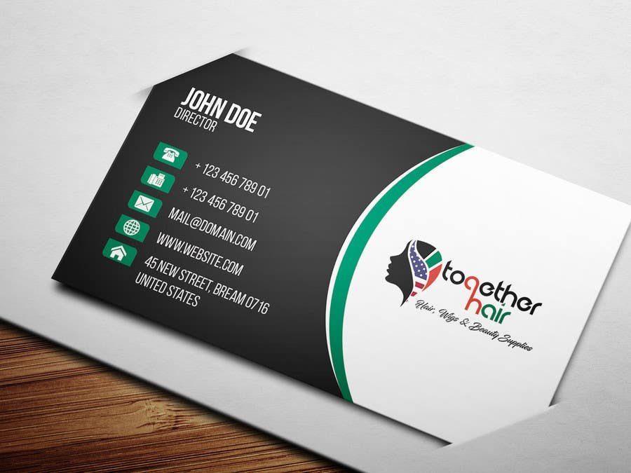 Proposition n°68 du concours Together Hair needs business cards!