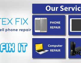 #5 for electronics repair store  banner by mouradyassin1