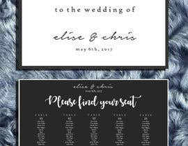#13 for Design a modern Wedding invitation template set by zahra0501