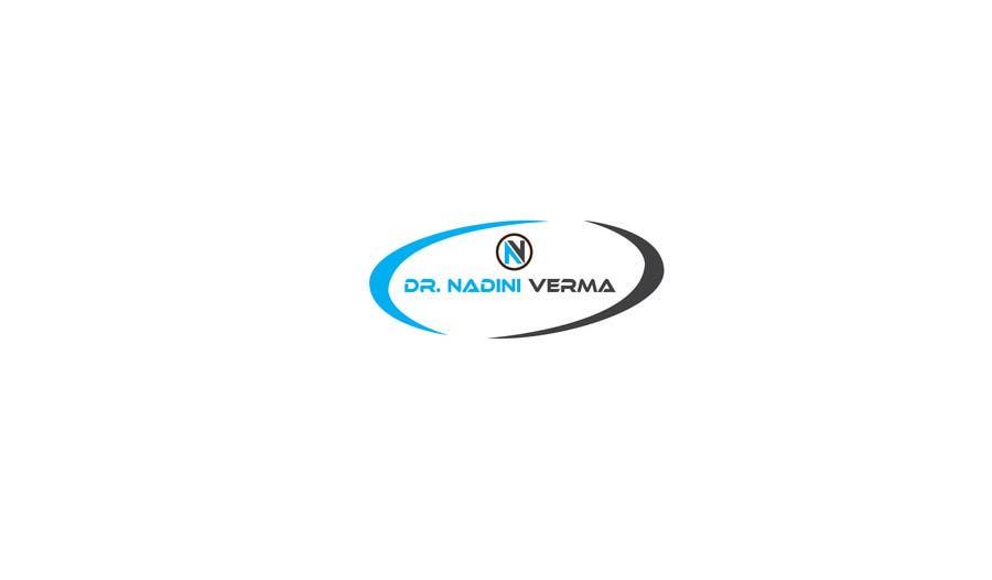 Kilpailutyö #                                        104                                      kilpailussa                                         Logo for Dr. Nadini Verma