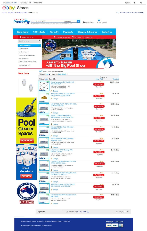 ebay store design templates free - ebay store design template freelancer