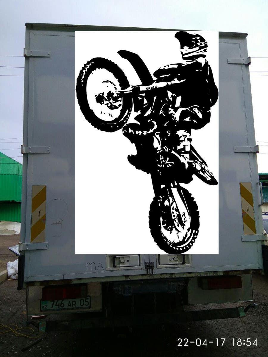 Proposition n°6 du concours Разработка оформления для грузовика мотокроссменов