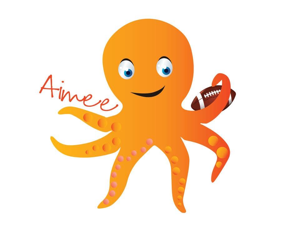Proposition n°9 du concours Design an octopus Logo
