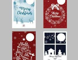 #22 for Develop 16 new magical Christmas Cards with snowflakes by Quay3010