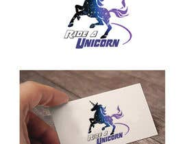 nº 13 pour Logo for Ride A Unicorn par wpurple