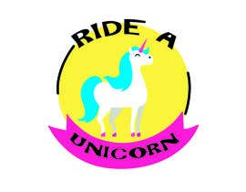 nº 9 pour Logo for Ride A Unicorn par ammarsykes96