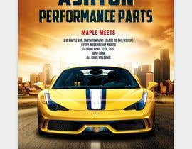 nº 19 pour Design a Flyer for car show par GreyGraphics