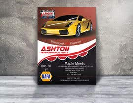 nº 26 pour Design a Flyer for car show par Mukul703