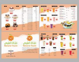 nº 12 pour Design A juice bar menu. Arabic Understanding required par maidang34