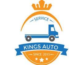 Nro 114 kilpailuun Kings Auto Logo Design käyttäjältä ouzmetu