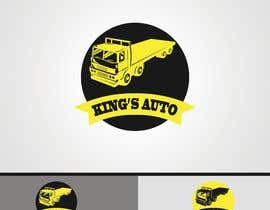 nº 141 pour Kings Auto Logo Design par pixartbd