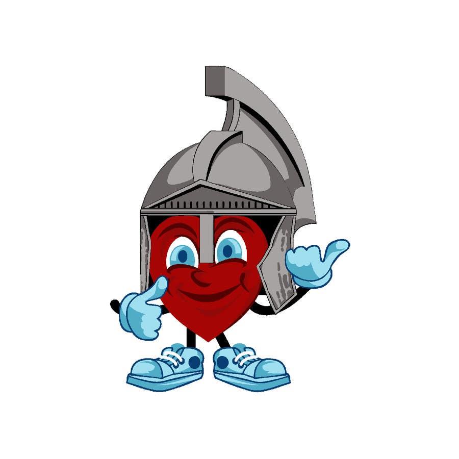 Proposition n°4 du concours Heart Mascot