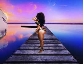 #48 for Sexy Girl on Sunset Dock by Kitteehdesign