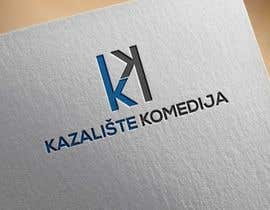 #131 for Logo Design contest Theatre Komedija, Zagreb, Croatia by noyonhossain017