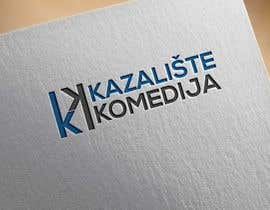 #141 for Logo Design contest Theatre Komedija, Zagreb, Croatia by noyonhossain017
