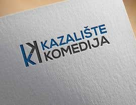 #142 for Logo Design contest Theatre Komedija, Zagreb, Croatia by noyonhossain017
