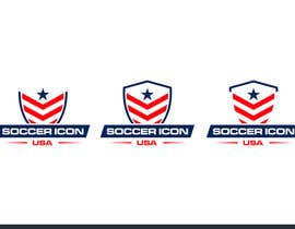 #396 for Design a Logo - Soccer Icon USA by zuhaibamarkhand