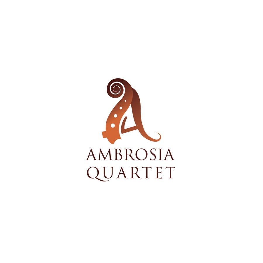 Contest Entry #50 for Ambrosia Quartet classical music logo