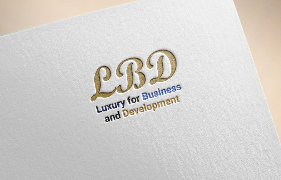 Proposition n°410 du concours Logo for ( Luxury for Business and Development  )