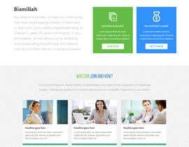 nº 6 pour NonProfit Credit Union Website par Poornah