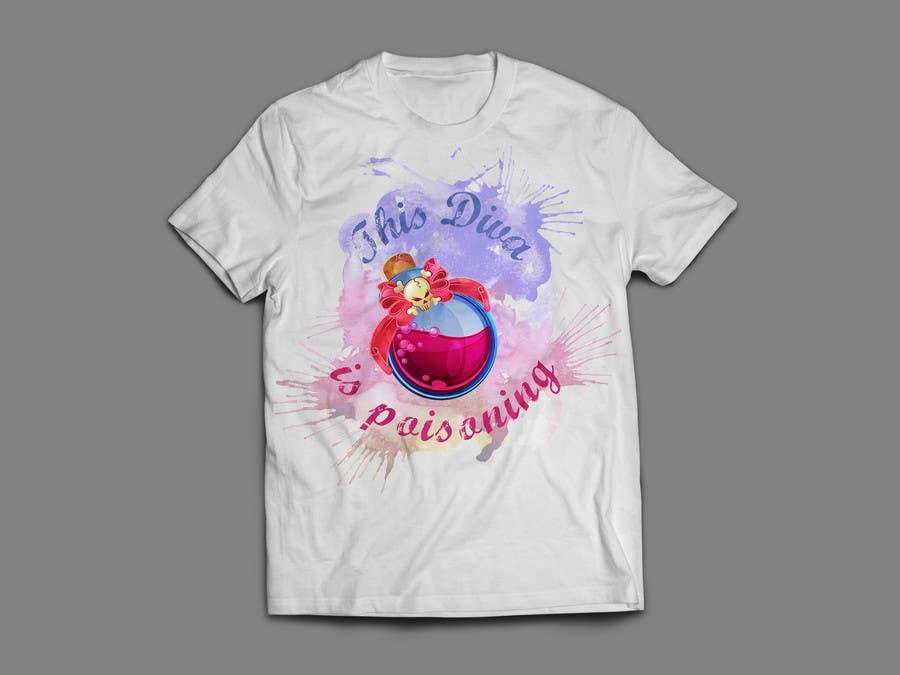 Proposition n°52 du concours Design a T-Shirt for ladies