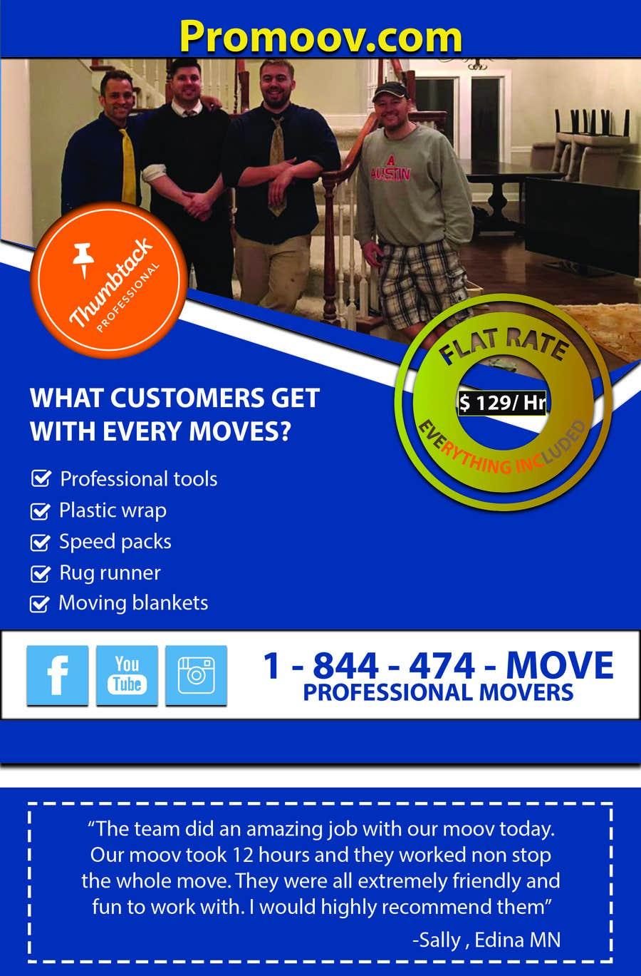 Proposition n°26 du concours Design an Advertisement flyer