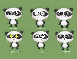 #26 for Vector Panda Character by mfkamilarts