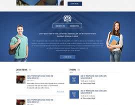 nº 23 pour Design a Website Mockup for International School par webidea12