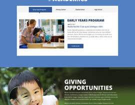 nº 20 pour Design a Website Mockup for International School par saidesigner87