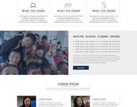 nº 8 pour Design a Website Mockup for International School par sudpixel